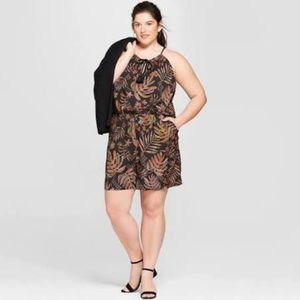 A New Day ❤ Plus Size Romper* NWT